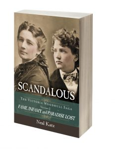 Scandalous; The Victoria Woodhull Saga Vol 2 Book Image
